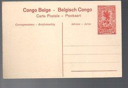 CONGO - ENTIER STIBBE 43 - VUE 4 - NEUF -  TB - PL8 - Entiers Postaux