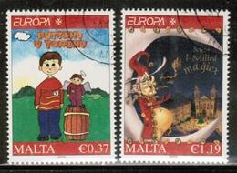 CEPT 2010 MT MI 1642-43 MALTA USED - Europa-CEPT