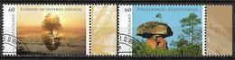 2014  Allem. Fed.  Deutschland MI. 3059-60 FD-used Wildes Deutschland - [7] République Fédérale