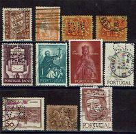 Portugal - Perfins Diversos (090_1) - Portugal