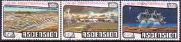 ASCENSION 1976 SG #219-21 Compl.set Used American Revolution - Ascension