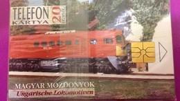 Cartes Téléphonique Hongrois Magyar Mozdonyok /Ungarische Lokomotiven - Télécartes