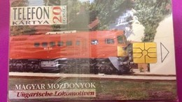 Cartes Téléphonique Hongrois Magyar Mozdonyok /Ungarische Lokomotiven - Phonecards