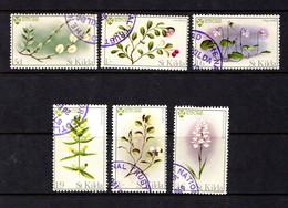 SAINT  KILDA    1969    Flowers    Set  Of  6    USED - Stamps