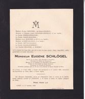 CINEY Eugène SCHLÖGEL Président Conseil De Fabrique 1849-1929 Famille HAUZEUR De CERF HEPTIA - Overlijden