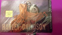 Cartes Téléphonique Hongrois Harley - Davidson  1996 - Tarjetas Telefónicas
