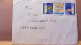 """DDR: Brief Mit 1575/ZF/1576 """"5. Welt- Getreide- Und Brotkongress In Dresden Mai 1970"""" Aus Dresden 27.8.83 Knr: W Zd224 - [6] République Démocratique"""