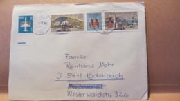 """DDR: Brief Mit 10/ZF/20 Pf  """"6. BM-Ausstellung Der Jugend 1980"""" U. 5 Pf Luftpost Aus Dresden 5.7.85 Knr: W Zd 454, Ua. - [6] République Démocratique"""