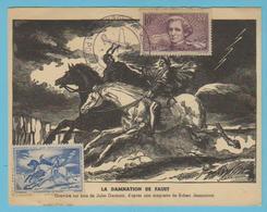J.M. 22 - Carte Maximum Ou Carte Philatélique - Compositeur - N° 51 - H. BERLIOZ - Musique