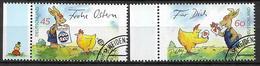 2014  Allem. Fed.  Deutschland MI. 3063-4 FD-used Der Ostereientwurf / Das Ostergeschenk - [7] République Fédérale