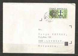 CESKA REPUBLIKA  - Traveled  Cover To BULGARIA    - D 3381 - Tchéquie