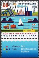 2014  Allem. Fed.  Deutschland MI. 3067 FD-used . Umweltschutz : Wasser Ist Leben. - [7] République Fédérale