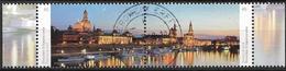 2014  Allem. Fed.  Deutschland MI. 3068-9 Used Blick über Die Elbe Auf Die Historische Innenstadt Dresdens - [7] République Fédérale
