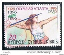 Cyprus 1996 - Sports - Olympic Games - Atlanta, USA - Chypre (République)