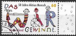 """2014  Allem. Fed.  Deutschland MI. 3072 FD- Used 50 Jahre """"Aktion Mensch - [7] République Fédérale"""