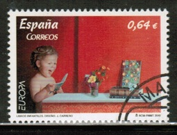 CEPT 2010 ES MI 4506 SPAIN USED - Europa-CEPT