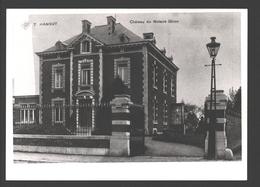 Hannuit / Hannut - Château Du Notaire Ghion - Reproduction Sur Papier Photo - Hannut