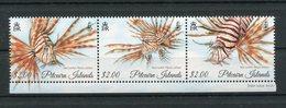 """Pitcairn - Mi.Nr. 929 / 931 - """"Rotfeuerfisch"""" ** / MNH (aus Dem Jahr 2015) - Briefmarken"""