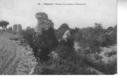 NOYERS SUR SEREIN Ruines D'un Ancien Château Fort - Noyers Sur Serein