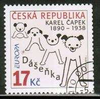CEPT 2010 CZ MI 631 CZECH REPUBLIC USED - Europa-CEPT
