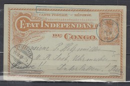 Carte Postale Van Boma Naar Interlaken Boma Carte - République Du Congo (1960-64)