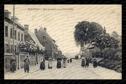 Berthen – Rue Principale Vers Bailleul (Imp. Le Delay / ELD). RARE. - Other Municipalities