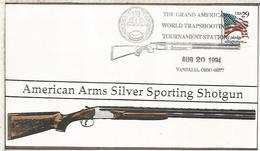 ESTADOS UNIDOS USA 1994 VANDALIA MAT CAZA HUNTING RIFLE GUN TRAPSHOOTING - Animalez De Caza