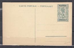 Carte Postale Van Ruanda Urundi - Enteros Postales