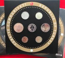 Turkey 2019 Official 7 Coins Mint Set BU - Turquie