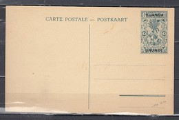 Carte Postale Van Ruanda Urundi Ecole Des Comptables A Lisala - Enteros Postales