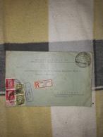 Deutsches Reich Landpost Einschreiben Brief Sonderstempel 1933 Sacro über Forst Lausitz Land Leipzig Lot 162D - Allemagne