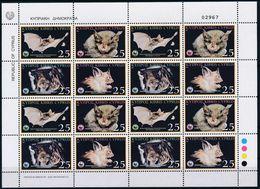 Cyprus 2003 - Sheet - Mediterranean Horseshoe Bat - Chypre (République)