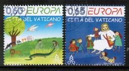 CEPT 2010 VA MI 1669-70 VATICAN USED - Europa-CEPT