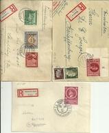 3 Briefe Mit Ankunftsstempel - Allemagne