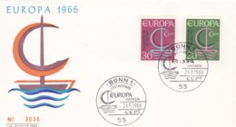 Germany FDC 1966 Europa CEPT   (G94-43) - 1966