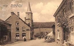 Moulin-du-Ruy - Avenue De L'Eglise (animée, Café, Chevaux, Préaux 1931) - Stoumont