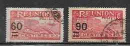 Timbre De Réunion  De 1922/27  N°98 + 102 Oblitérés - Réunion (1852-1975)