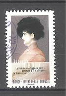 France Autoadhésif Oblitéré N°1263 (Normandie Impressionniste) (cachet Rond) - France