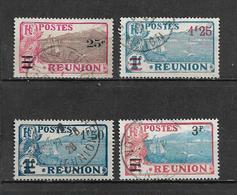 Timbre De Réunion  De 1924/27  N°103 A 106  Oblitérés - Réunion (1852-1975)