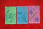 Telecommunicatie ; NVPH Nr: 561-563 Mi 601-603; 1971 MNH / Postfris SURINAME / SURINAM - Surinam ... - 1975