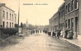Micheroux - Rue De La Station (belle Animation, Préayx, Edit A. Born-Housset 1923) - Soumagne