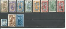 MOYEN CONGO Scott 1-7, B1, J1, 67, J24 Yvert 48-52, 65, 67-68, 113, Taxe 1, 24 (11) * Et O 9,20 $ 1907-33 - Neufs
