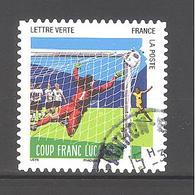 France Autoadhésif Oblitéré N°1281 (Les 10 Plus Beaux Gestes Des Footballeurs) (cachet Rond) - France
