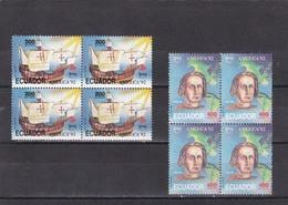 Ecuador Nº 1252 Al 1253 En Bloque De Cuatro - Ecuador