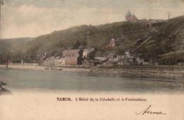 BELGIQUE - NAMUR - L'Hôtel De La Citadelle Et Le Funiculaire. - Namur