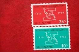 IAO ; NVPH Nr: 520-521 Mi 562-563 ; 1969 POSTFRIS MNH ** SURINAME / SURINAM - Surinam ... - 1975