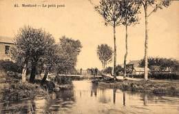 Mouland - Le Petit Pont (animée, Franchise Militaire, Texte Contrôle Spécial Frontière Hollandaise 1948) - Fourons - Voeren