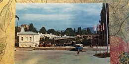 Russia, Kislovodsk Railway Station  -  - LA GARE - BAHNHOF  - OLD USSR PC 1971 - Stations With Trains