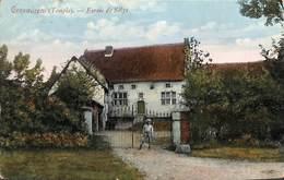 Corswarem (Temple) - Ferme De Sélys (top Carte Colorisée Animée, Edit. F. Teheux-Hovent 1909) - Berloz