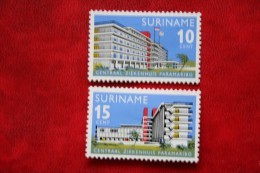 Gelegeheidszegels ; NVPH 447-448 Mi 492-493 ; 1966 MH / Ongebruikt SURINAME / SURINAM - Surinam ... - 1975